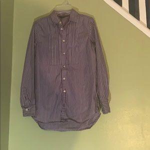 Purple and White Polo shirt